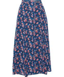 Tanya Taylor | Wixson Printed Silk-Chiffon Midi Skirt