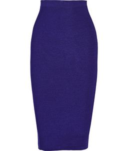 Cushnie Et Ochs | Ribbed Stretch-Knit Skirt