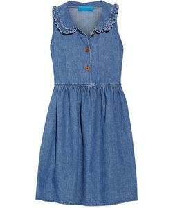M.i.h Jeans | Ruffle-Trimmed Chambray Mini Dress