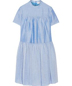 Co | Tiered Ramie-Blend Dress