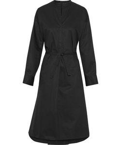 Isabel Marant | Nafy Belted Cotton-Poplin Midi Dress