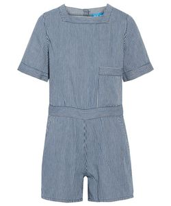 M.i.h Jeans | M.I.H Jeans Biarritz Striped Cotton Playsuit