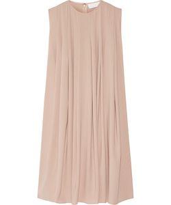 Co | Pleated Crepe Dress