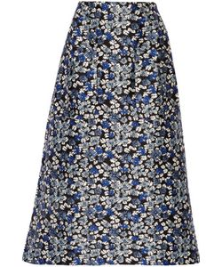 Mother Of Pearl | Glennis Floral-Print Cotton And Silk-Blend Midi Skirt