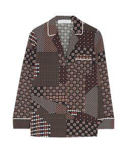 Thakoon | Addition Printed Crepe De Chine Shirt