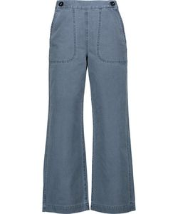 M.i.h Jeans | M.I.H Jeans Cropped High-Rise Flared Jeans