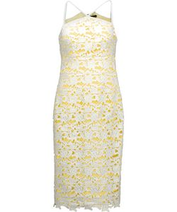 Raoul   Gale Two-Tone Guipure Lace Dress