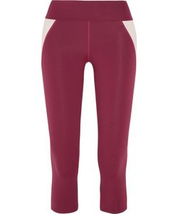 Live The Process   Cropped Stretch-Supplexreg Leggings