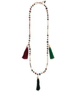 Rosantica   Gitanatone Bead And Tassel Necklace One Size