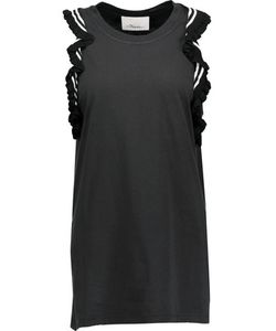 3.1 Phillip Lim | Ruffled Cotton-Jersey Top