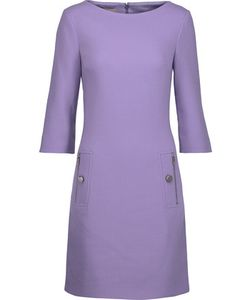 Michael Kors Collection | Stretch-Wool Crepe Mini Dress