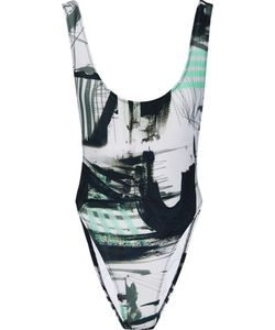 Norma Kamali | Marissa Printed Swimsuit