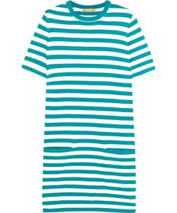 Michael Kors Collection | Striped Cotton-Jersey Mini Dress