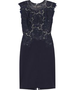 Catherine Deane | Lace And Stretch-Cady Dress
