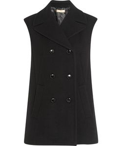 Michael Kors Collection | Oversized Double-Breasted Wool Vest