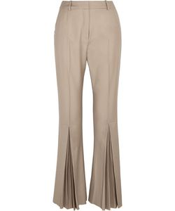 Jonathan Saunders | Polly Pleated Wool Flared Pants