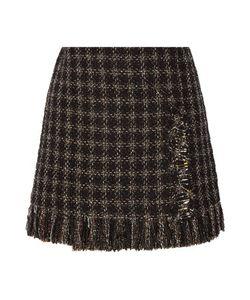 Sonia Rykiel | Embellished Metallic Tweed Mini Skirt