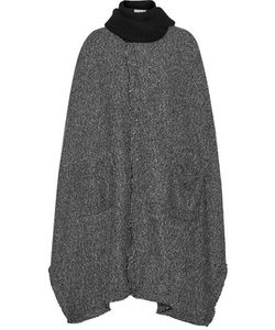 Thakoon Addition | Addition Tweed Cape And Knitted Scarf Set