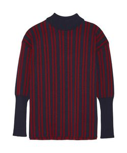 Tanya Taylor | Timmy Striped Stretch-Knit Turtleneck Sweater