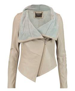 Muubaa | Sabina Draped Leather Jacket