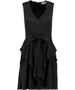 L'agence | Gabby Ruffled Crepe Mini Dress