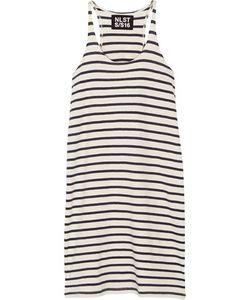 Nlst | Striped Cotton-Jersey Mini Dress