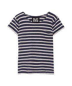 Nlst | Striped Cotton-Jersey T-Shirt