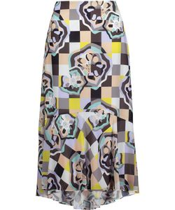 Raoul | Ivy Swing Printed Georgette Midi Skirt