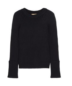 Michael Kors Collection | Ribbed Cashmere-Blend Sweater