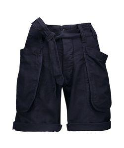 Nlst | Tie-Waist Cotton-Blend Shorts