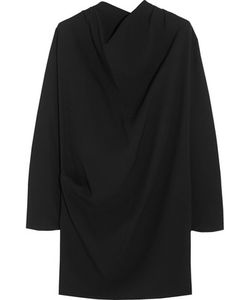 Bouchra Jarrar | Draped Crepe Mini Dress