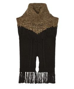 Thakoon | Addition Fringed Cable-Knit Wool-Blend Sweater