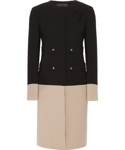 Derek Lam | Two-Tone Crepe Coat