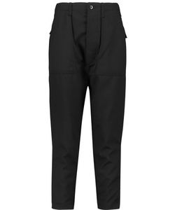 Nlst | Cotton-Trimmed Wool-Twill Tapered Pants