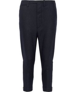 Nlst | Officer Wool-Blend Flannel Tapered Pants