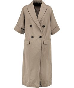 Brunello Cucinelli | Gabardine Trench Coat