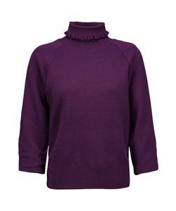 J.W.Anderson | J.W.Anderson Ruffle-Trimmed Wool-Blend Sweater