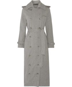 Norma Kamali | Cotton-Blend Trench Coat
