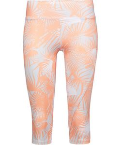 Live The Process | Cropped Printed Stretch-Supplexreg Leggings