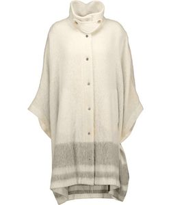 Belstaff | Glennon Striped Knitted Cape