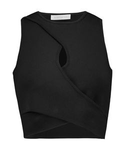 Dion Lee | Cropped Stretch-Crepe Top