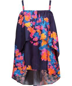 Tanya Taylor | Ione Floral-Print Silk-Twill Top