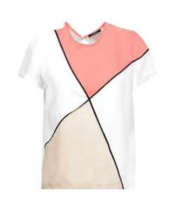 Raoul | Color-Block Silk Top