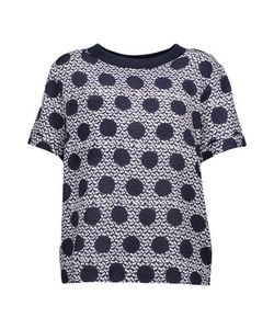 Mother Of Pearl | Nell Printed Silk And Cotton Top