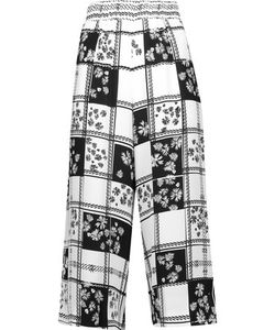 Mother Of Pearl | Minos Printed Crepe De Chine Culottes