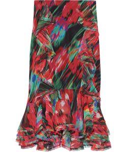 Jason Wu | Ruffled Printed Silk-Chiffon Skirt