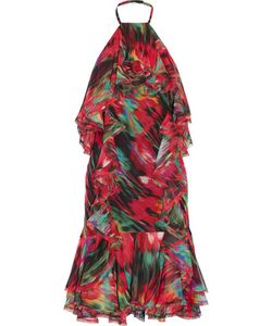 Jason Wu | Ruffled Printed Silk-Chiffon Dress