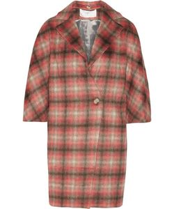 Thakoon | Checked Knitted Coat
