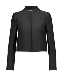 Valentino | Cropped Wool And Silk-Blend Blazer