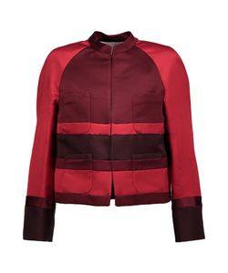 Valentino | Two-Tone Silk-Satin Jacket